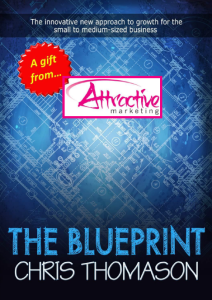 The Blueprint by Chris Thomason - a gift from Attractive Marketing