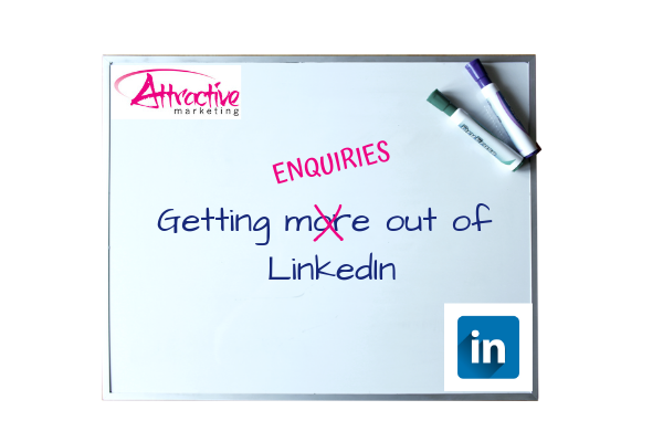 Getting enquiries out of LinkedIn