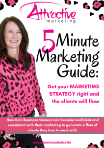 5 Minute Marketing Guide Form